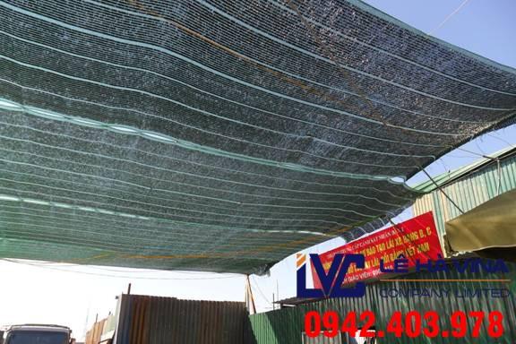Lưới che nắng mái tôn, Cách lắp đặt lưới, Lê Hà Vina, Cung cấp lưới che nắng, Lưới