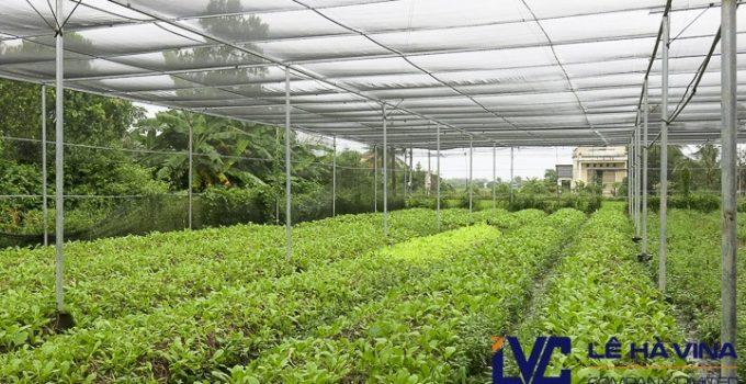 Lưới che nắng vườn ươm, Công ty Lê Hà Vina, Lưới, Lưới Thái Lan, Lưới che nắng mưa