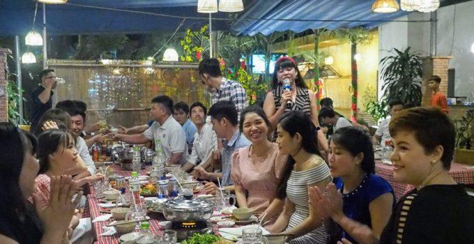 Lê Hà Vina, Công ty tri ân đội ngũ nhân sự, Công ty Lê Hà Vina, Tiệc tất niên