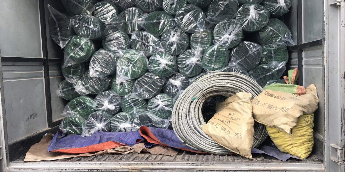 Lưới che nắng, Cáp, Tăng đơ, mua lưới che nắng tại Lê Hà Vina, Lê Hà vina