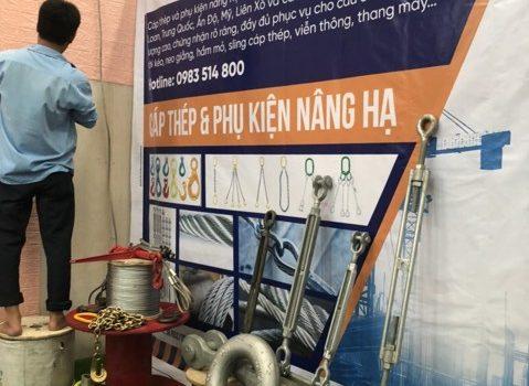 hội chợ kích cầu tiêu dùng 2020, Lê Hà Vina, hội chợ kích cầu tiêu dùng, lưới che nắng, cáp thép, ma ní, tăng đơ, cáp cẩu hàng, cáp thang máy, cáp chống xoắn